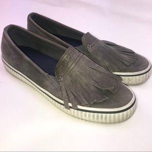 Sperry Leather Slipons